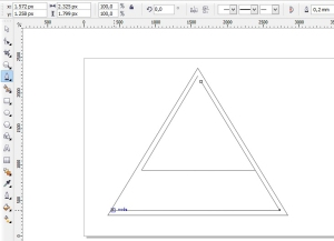 membuat logo denganc orel draw J