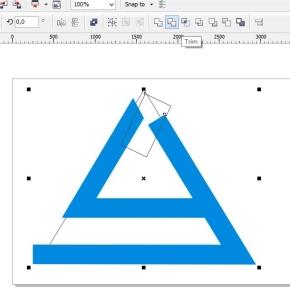 membuat logo denganc orel draw potong lagi