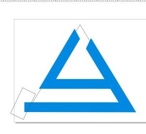 membuat logo denganc orel draw trim juga