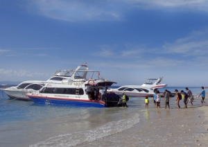 speed boat penyebrangan ke nusa penida yandar